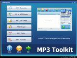 《MP3Toolkit》MP3音频处理软件官方版 MP3工具箱 绿色版
