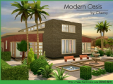 模拟人生4 Modern Oasis房屋MOD