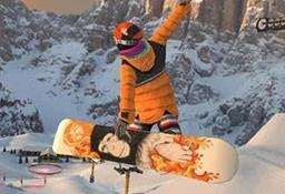 滑雪手机游戏