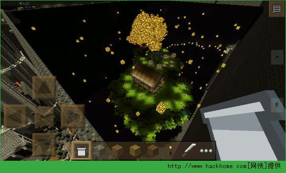 我的世界手机版0.11.0鬼舞幽冥之黑暗跑酷地图存档图2: