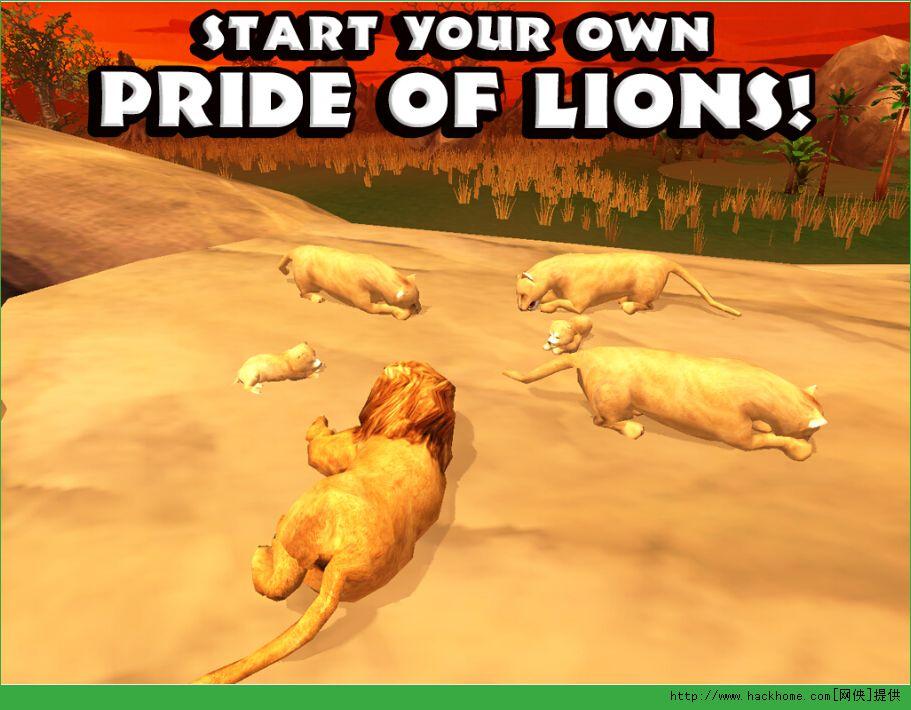狮子模拟器汉化中文版下载图4: