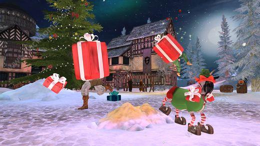 山羊模拟器MMO圣诞官网最新版(Goat Simulator MMO Simulator)图2: