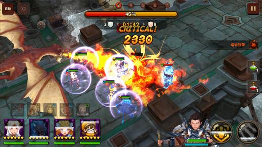 天堂红骑士官方iOS版(Lineage Redknights)图1: