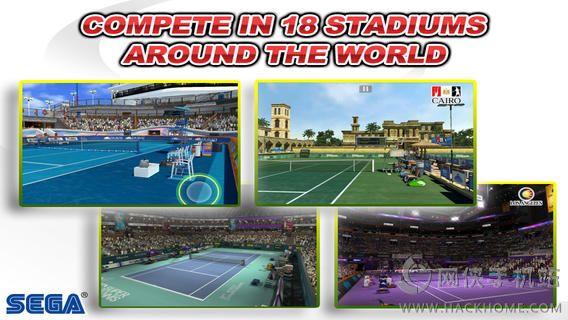 VR网球无限金钱全通关iOS破解存档(Virtua Tennis Challenge)图3: