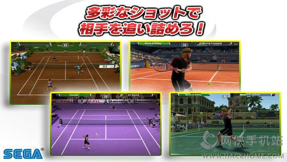 VR网球无限金钱全通关iOS破解存档(Virtua Tennis Challenge)图5: