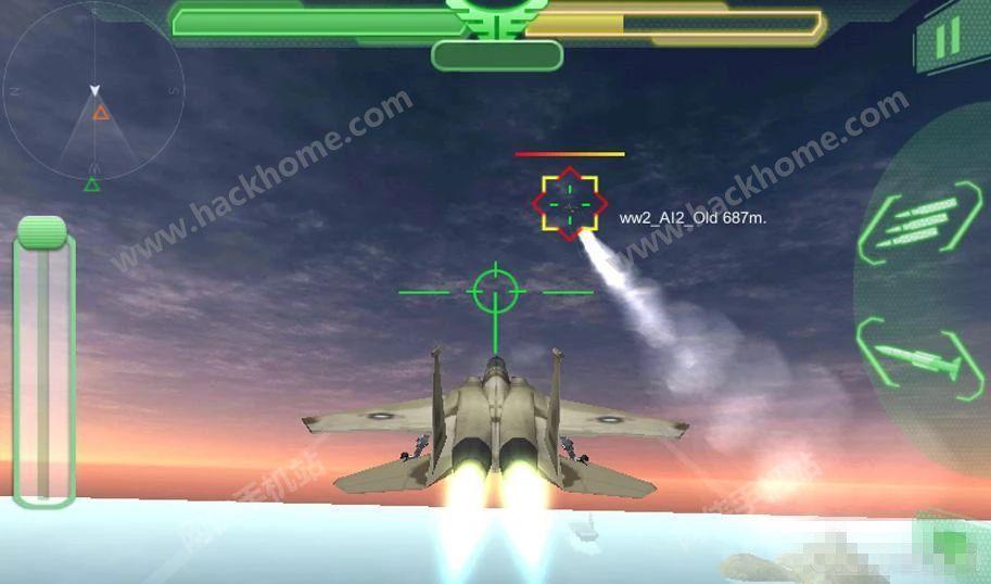 F16VSF18战斗机空战游戏官网安卓版(F16 vs F18 Air Fighter Attack 3D)图4:
