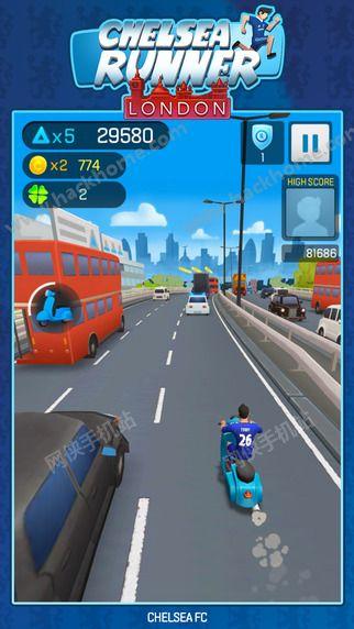 切尔西奔跑者官方正版游戏下载(Chelsea Runner)图4: