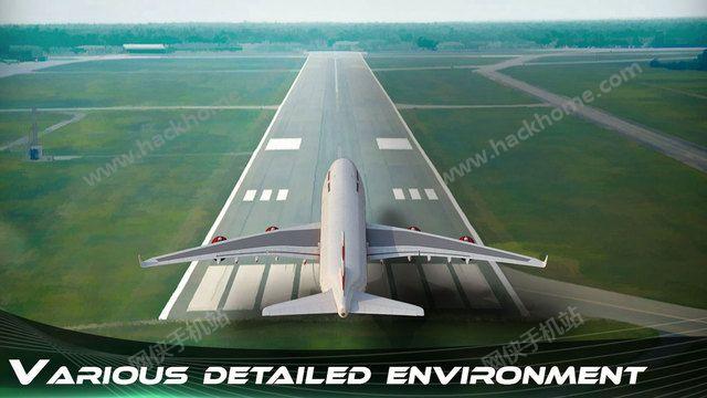 飞机飞行模拟器的3D汉化中文破解版图3: