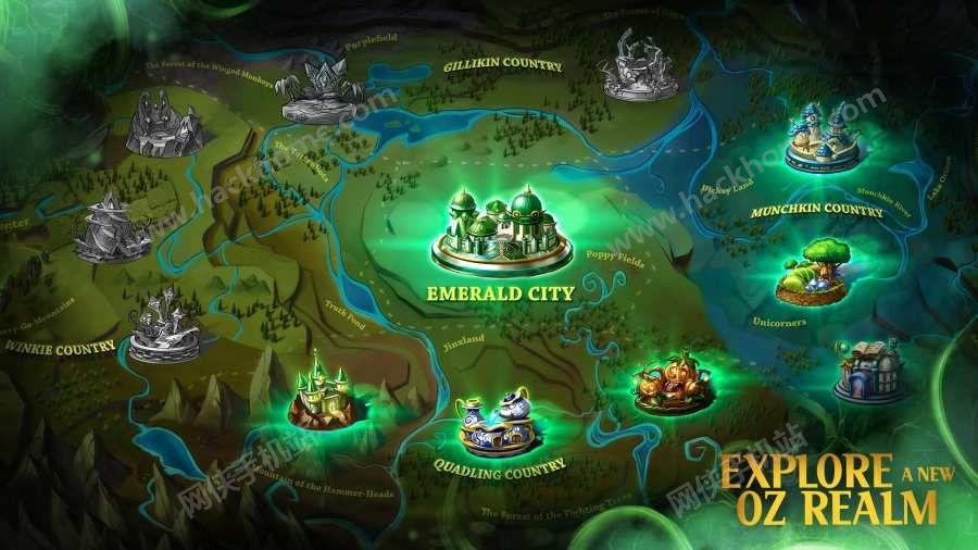 奥兹破碎的王国手游ios官网版下载(Oz Broken Kingdom)图4: