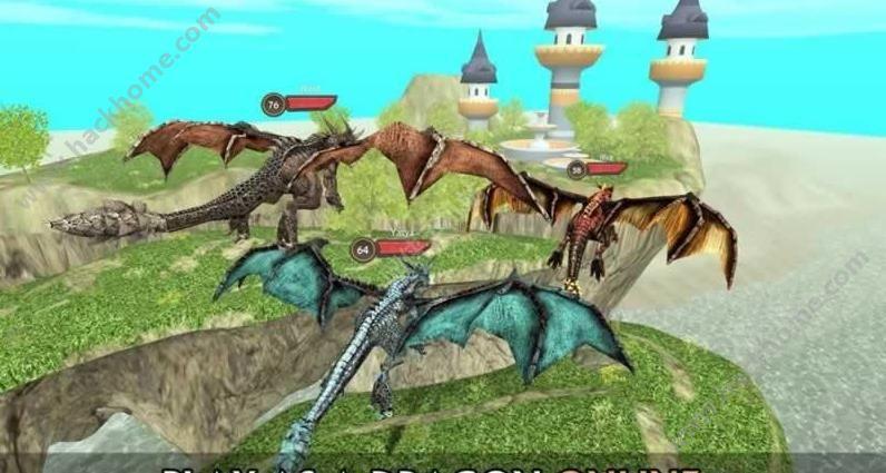 龙族模拟器无限金币中文破解版(Dragon Sim Online )图4: