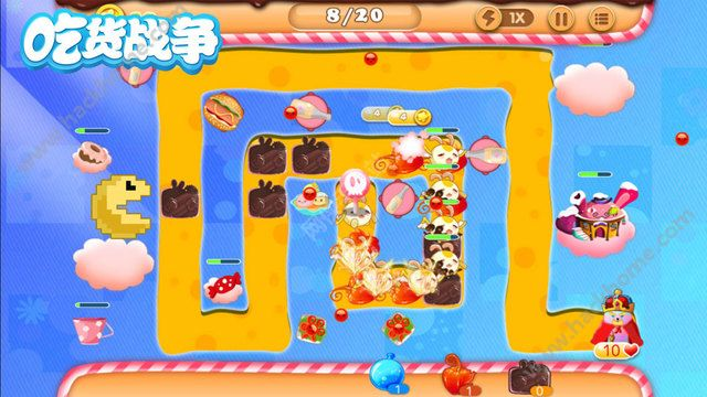 吃貨戰爭遊戲官方手機版圖4: