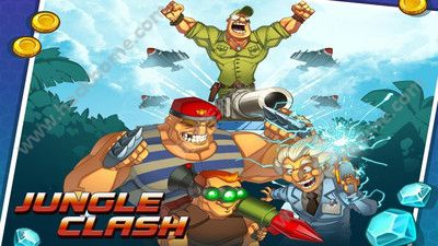 丛林战争游戏官方手机版下载(Jungle Clash)图4: