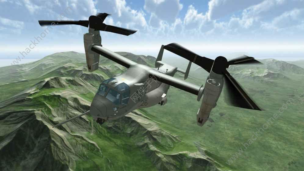 鱼鹰操作直升机模拟器完整中文破解版图4: