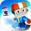 像素滑雪游戏