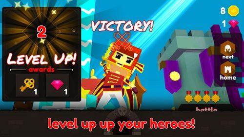 斗技场英雄官网手机游戏(Battle Arena Heroes)图2: