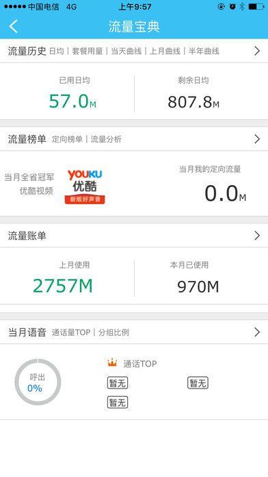流量加油站电信IOS手机版app图4: