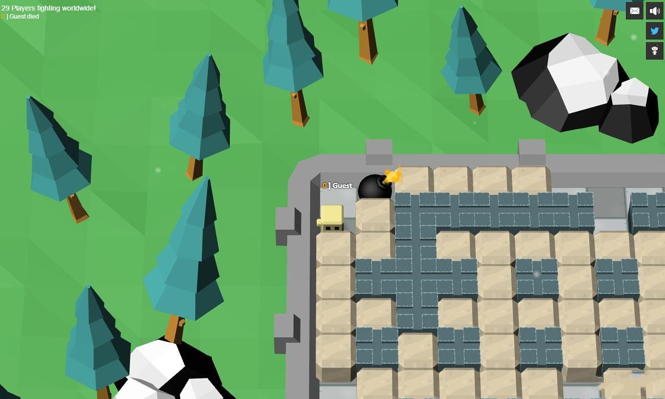 爆破竞技场游戏安卓中文版(Blast Arena)图3:
