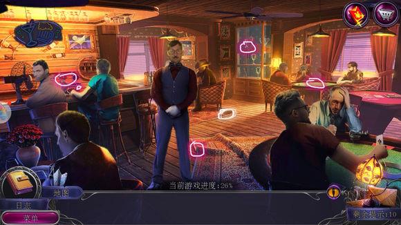 密室逃脱19离奇失踪第九关攻略 赌场图文通关教程[多图]图片3