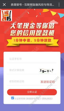 鼎晟银号贷款官方版app下载安装图2: