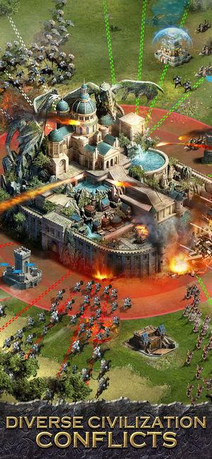 列王的纷争无限金币最新修改版(clash of kings)图5: