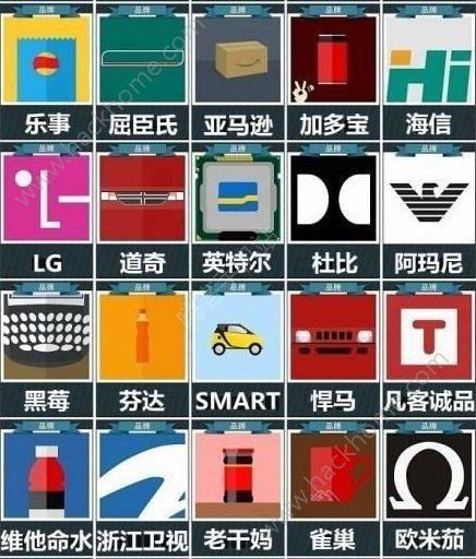 微信疯狂猜品牌答案大全 疯狂猜品牌全部答案图文汇总[多图]图片5