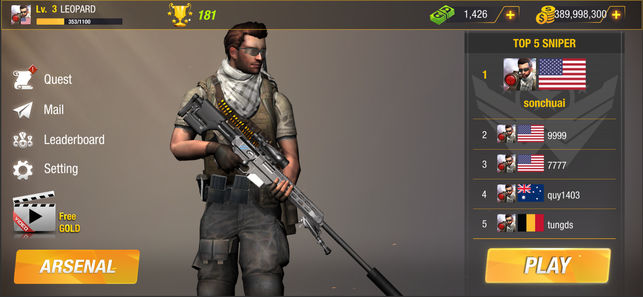 子弹打击战场官网中文内测版(Bullet Strike Battlegrounds)图5: