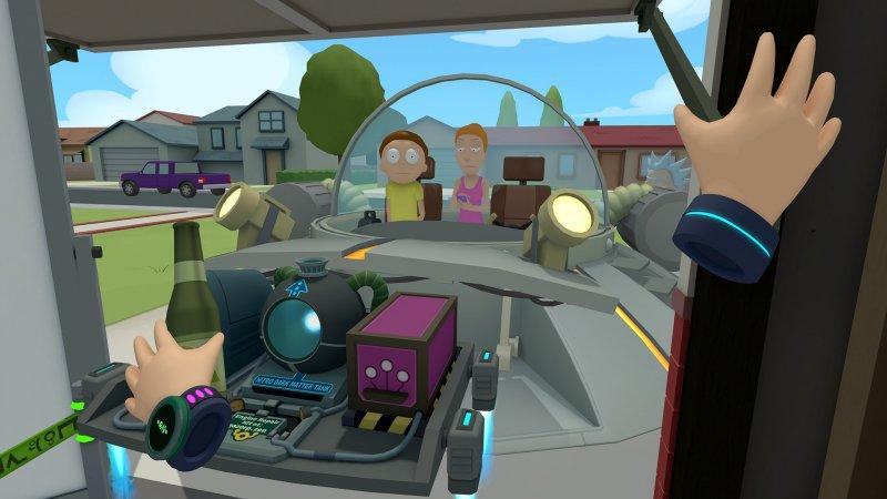 瑞克和莫蒂VR游戏安卓手机中文版(Rick and Morty)图1: