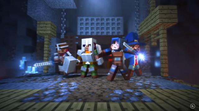我的世界地牢安卓汉化版手游(Minecraft Dungeons) 图1: