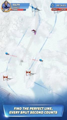 滑雪传奇游戏中文版下载(Ski Legends)图1: