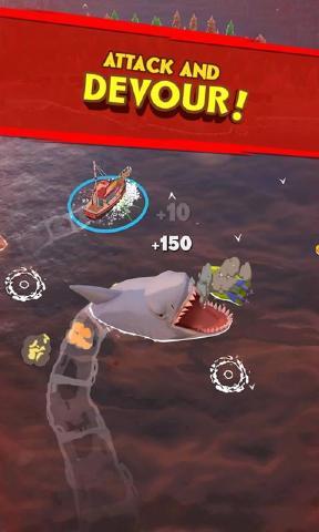 鲨鱼大作战游戏iOS版图2: