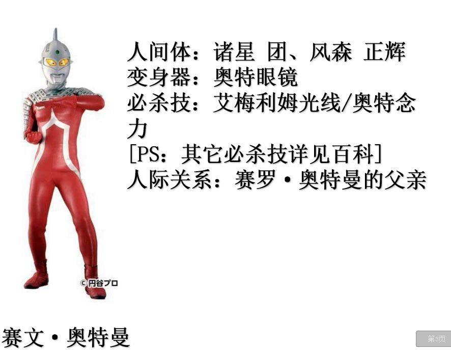 奥特曼日本紧身制服PDF(完整版)套路图免费分享图片1