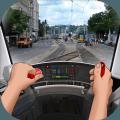 公共汽车电车模拟器游戏
