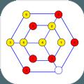 六边形蜂巢回路游戏