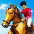 骑马乐趣赛跑游戏