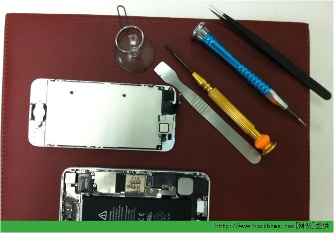 �O果iphone5后�w更�Q���D文教程[多�D]�D片2