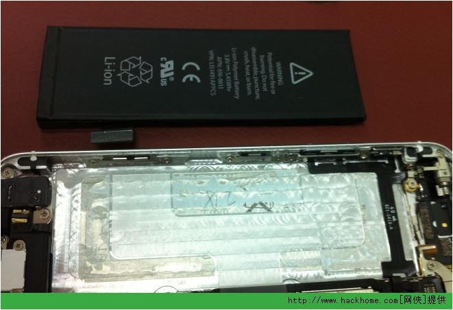 �O果iphone5后�w更�Q���D文教程[多�D]�D片5