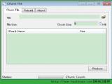 大文件分割工具 Chunk File 免费版 V1.0 绿色版