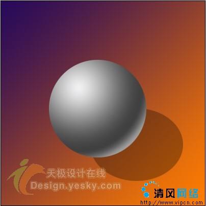 如何在平面设计中表现球体的立体感[多图]